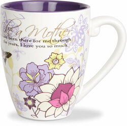 Like a Mother by Mark My Words - 17oz Painted Quote Mug