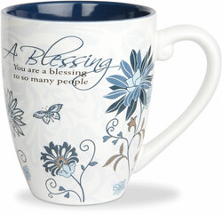 Blessing by Mark My Words - 17oz Painted Quote Mug