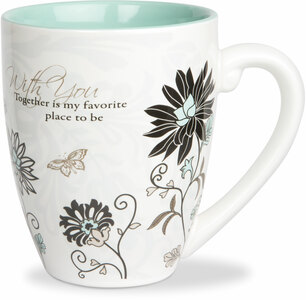 With You by Mark My Words - 20oz Mug