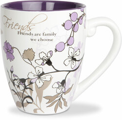 Friends by Mark My Words -  17oz Painted Quote Mug