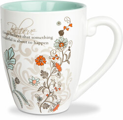 Believe by Mark My Words -  17oz Mug