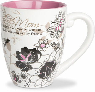 Mom by Mark My Words -  20oz Painted Quote Mug