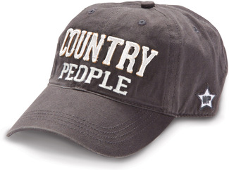 Country People by We People - Dark Gray Adjustable Hat