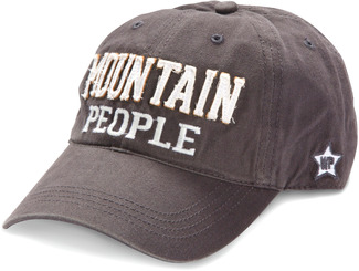 Mountain People by We People - Dark Gray Adjustable Hat