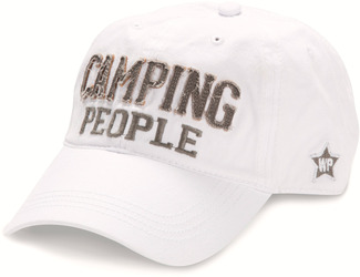 Camping People by We People - White Adjustable Hat