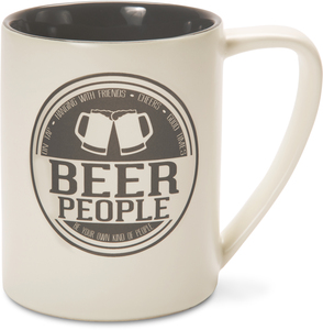 Beer People by We People - 18 oz Tan Coffee Mug