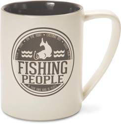 Fishing People by We People - 18oz. Mug