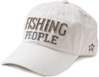 Fishing People by We People - White Adjustable Hat
