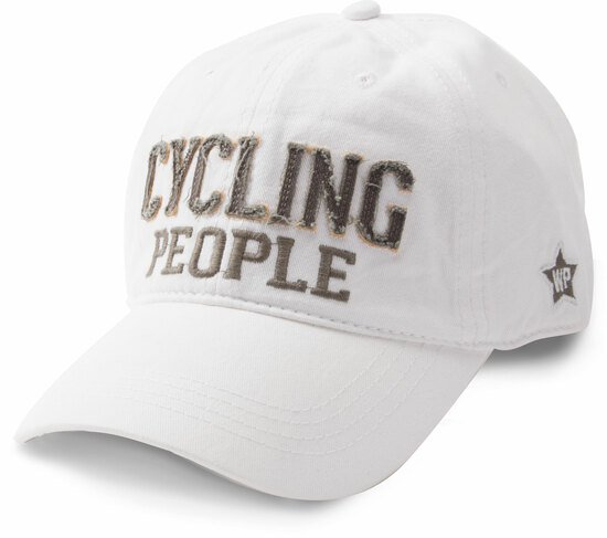 Cycling People by We People - Cycling People - White Adjustable Hat