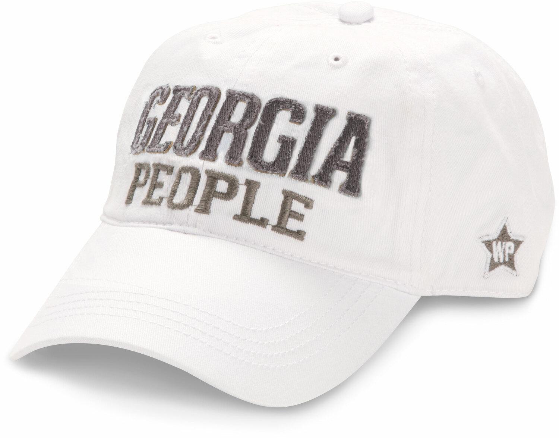 Georgia People, White Adjustable Hat - We People - Pavilion
