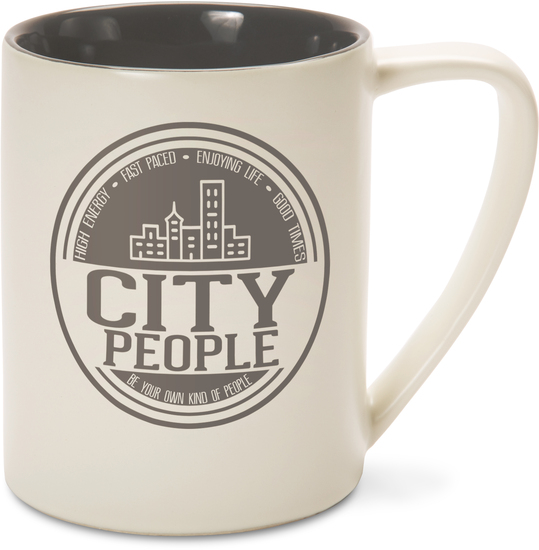 City People by We People - City People - 18 oz Mug