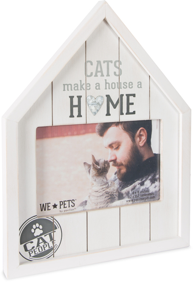 "Cat People by We Pets - Cat People - 8"" x 10.5"" Frame (Holds 6"" x 4"" Photo)"