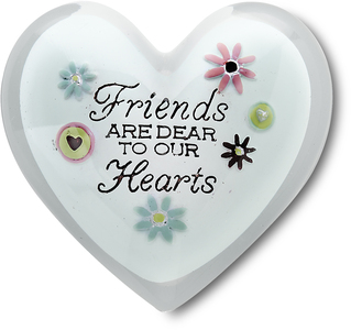 "Friends by Heart Expressions - 1.5"" Heart Token"