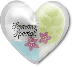 "Someone Special by Heart Expressions - 1.5"" Heart Token"