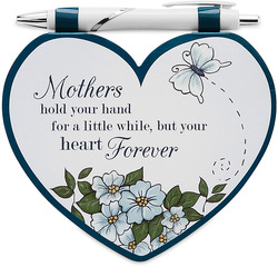 "Mother by Heart Expressions - 4.75""x4"" Notepad w/Pen"