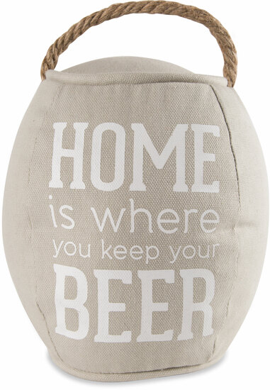 "Home by Man Crafted - Home - 8"" Barrel Door Stopper"
