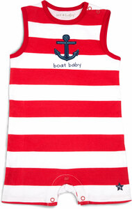 Boat Baby by We Baby - 6-12 Month Boy Romper