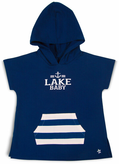Lake by We Baby - Lake - Hooded French Terry Cover Up (2T-3T)