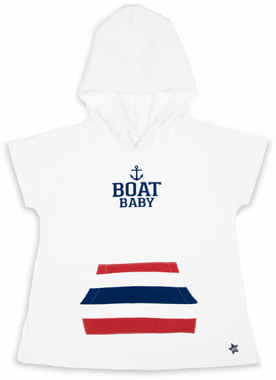 Boat by We Baby - Boat - Hooded French Terry Cover Up (2T-3T)