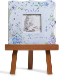 "Teacher by Fields of Joy - 5.5""x5.5"" Mini Frame w/E"