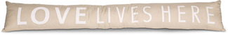 "Love by Open Door Decor - 6.7"" x 36.6"" Draft Stopper"