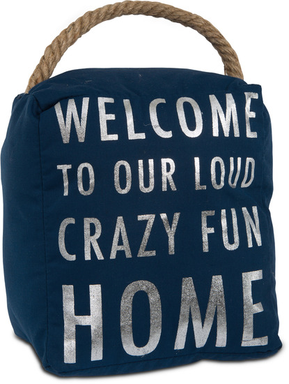 Crazy fun home 5 x 6 door stopper open door decor for Home decor survivor 5