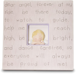 "Dear Angel by Cutie Patootie - 7"" Plaque"