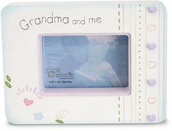 "Grandma & Me by Cutie Patootie - 7"" x 5.25"" Wood Photo Frame"
