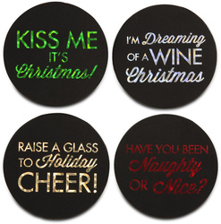 "Holiday by Hiccup - 4"" Round Coasters (Set of 4)"