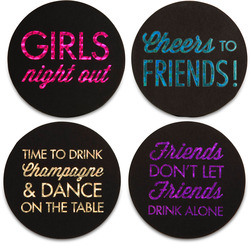 "Friends by Hiccup - 4"" Round Coasters (Set of 4)"