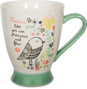 Nana by Bloom by Amylee Weeks - 18 oz Bird & Butterfly Mug