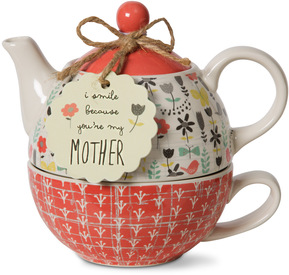 Mother 3 teapot set