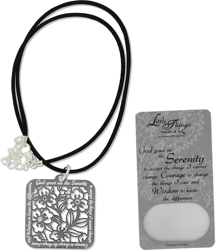 Serenity Necklace by Little Things Mean A Lot - With 1.25