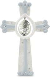 "Miracles by Little Things Mean A Lot - 7.25"" Self Standing Cross"