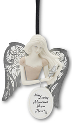 "Loving Memories by Little Things Mean A Lot - 3"" Angel Ornament"