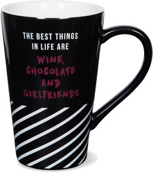 The Best Things in Life by Girlfinds - 18 oz. Mug