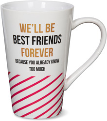 Best Friends Forever by Girlfinds - 18 oz. Mug