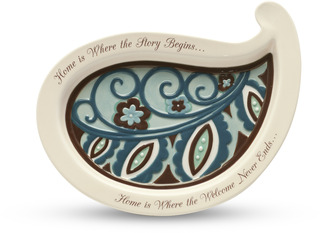 "Home by Perfectly Paisley - 8.5"" Tray"