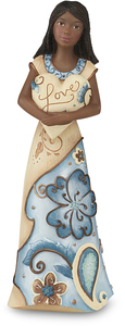 "EBN Love by Perfectly Paisley - 5.5"" EBN Figurine w/Heart"