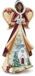 "EBN Oh Holy Night by Perfectly Paisley Holiday - 9"" EBN Angel with Diorama"