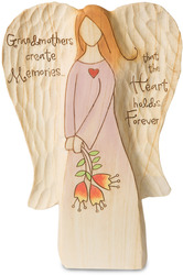 "Grandmother by Heavenly Woods - 7"" Angel Holding Flowers"