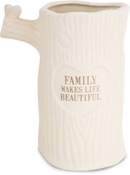 "Family by Heavenly Woods - 7"" Vase"