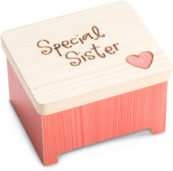 "Special Sister by Heavenly Woods - 2"" Keepsake Box"