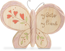 "Sister by Heavenly Woods - 4"" Butterfly"