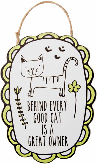 "Cat Owner by It's Cats and Dogs - Cat Owner - 4"" Ornament with Magnet"
