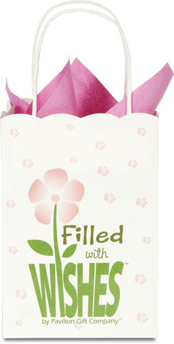Filled with Wishes Gift Bags by Filled with Wishes - Set/12 w/coordinating ti