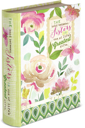 "Sister by Vintage by Stephanie Ryan - 6.5"" x 2"" x 8.5"" Musical Book Box"