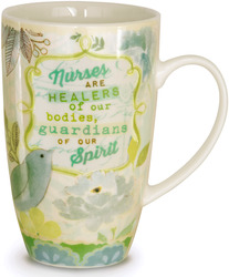 Nurse by Vintage by Stephanie Ryan - 15 oz Mug with Decorative Tin