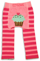 Pink Cupcake by Izzy & Owie - 6-12 Month Baby Leggings