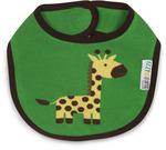 Green And Yellow Giraffe Baby Bib Izzy Amp Owie Pavilion